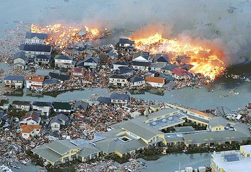 Катастрофа в Японии, Цунами, Землетрясение