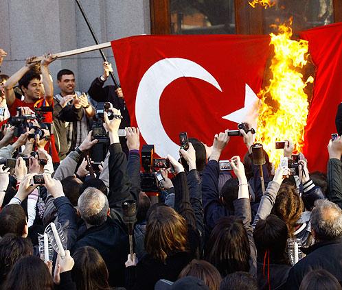 турецкий флаг фото
