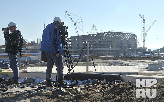 Наш фоторепортаж: стройки Олимпиады в Сочи-2014