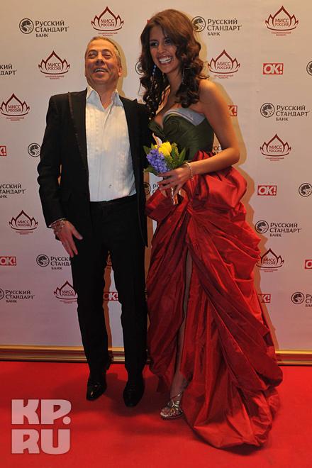 Аркадий Новиков и Елизавета Голованова