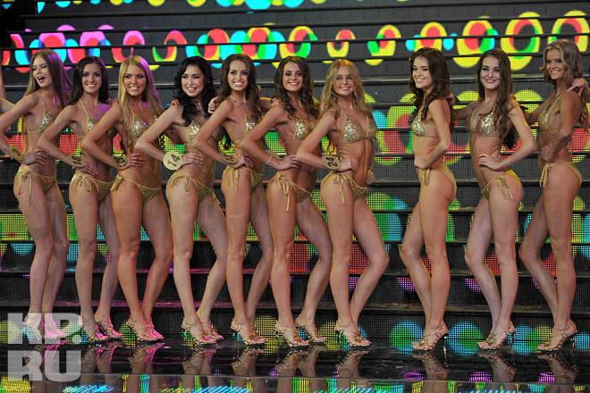 В Москве выбрали самую красивую девушку 2012 года