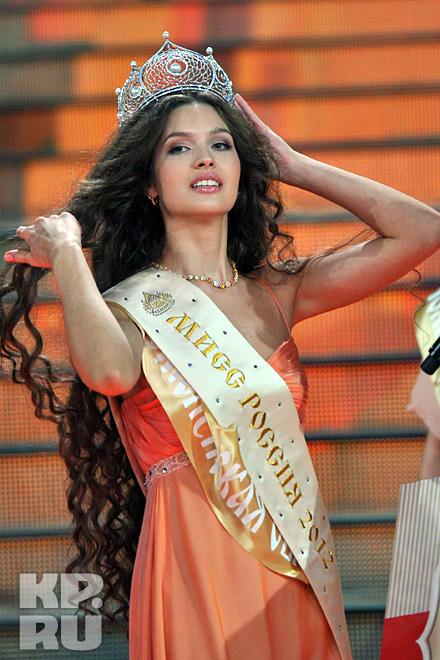 Мисс Россия-2012 Елизавета Голованова