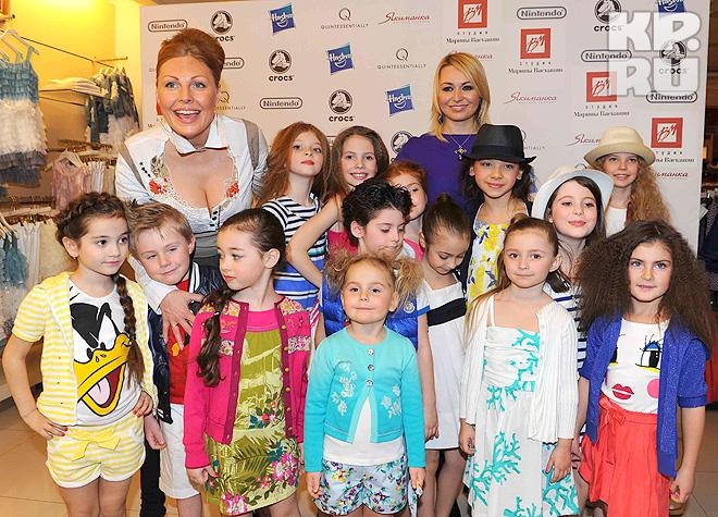 Наталья Бочкарева, Катя Лель и юные модели