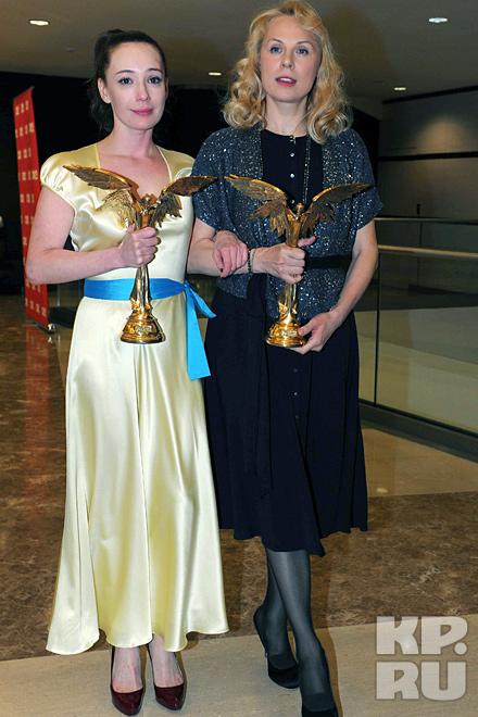 Чулпан Хаматова и Дина Корзун получили Нику за благотворительность