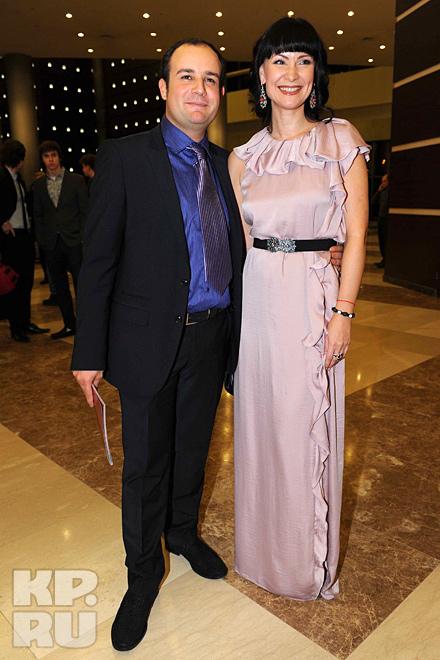 Нонна Гришаева с мужем
