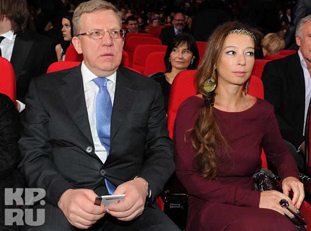 Алексей Кудрин с супругой