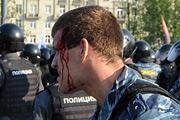 Марш оппозиции в Москве закончился беспорядками