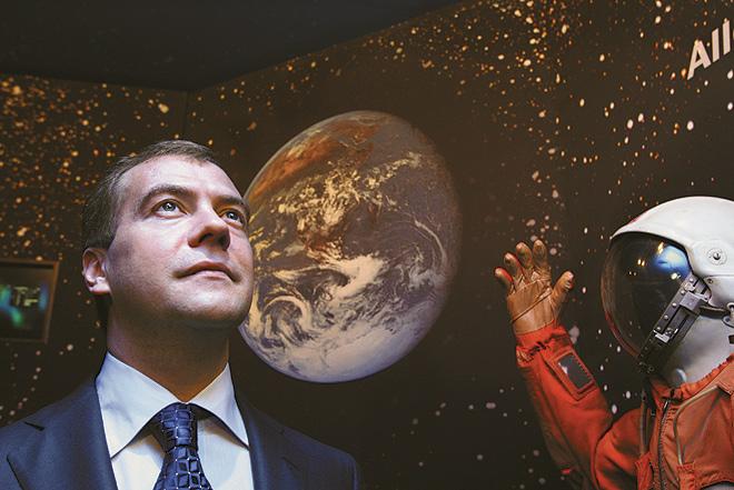 В экспозиции дома космонавтов
