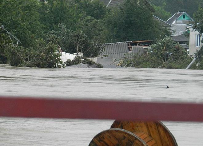Чрезвычайная ситуация в Краснодарском крае: репортаж о наводнении на Кубани