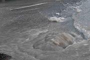 Дороги в Геленджике - пока еще встречается вода