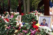 Прощание с погибшими в ДТП на Минской улице.