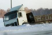 Высокая аварийность из-за непогоды на трассе М-52