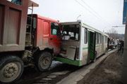 18 машин столкнулись в Иркутске