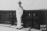 1913 год. Цесаревич на яхте «Штандарт».