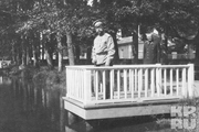 1914 год. Император в Царскосельском парке.