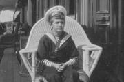 1914 год. Цесаревич на яхте «Штандарт».