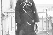 1916 год. Царское село.Цесаревич в национальном грузинском костюме.