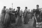 1915 год. Станция Могилев. Встреча Императрицы Александры Федоровной.