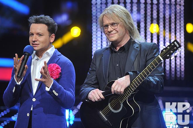 Александр Олешко и Алексей Кортнев