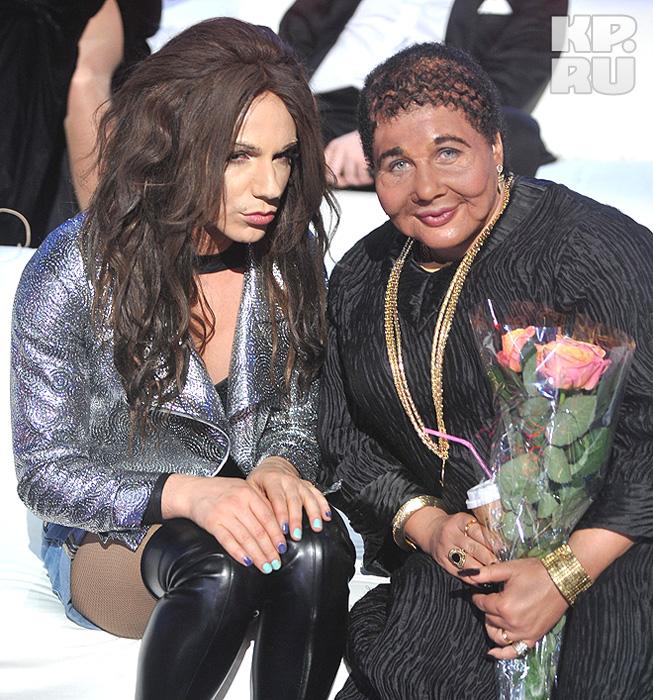 Тимур Родригес и Ева Польна