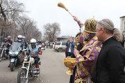 Епископ Лукиан благословил амурских байкеров на открытие сезона