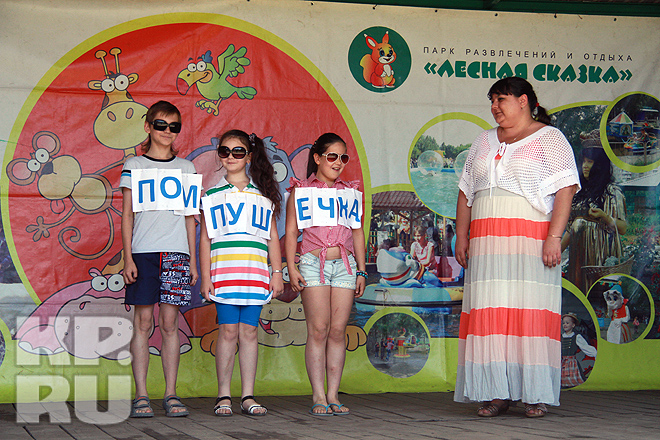Шоу «Пышки и пончики» в Барнауле (июнь 2013 год)