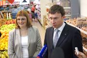 Ольга Наумова, генеральный директор российской сети «Пятерочка», и Геннадий Таран, директор южного дивизиона, не боятся конкурентов