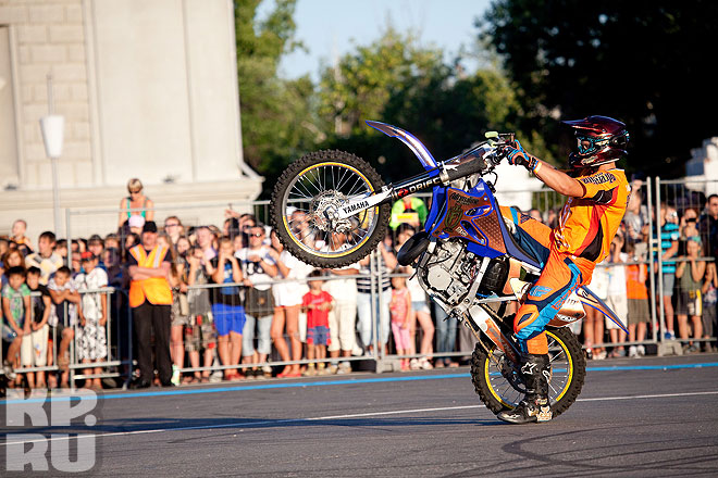 Freestyle- Motocross in Samara