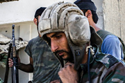 Будни солдат сирийской армии