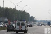 Авария на трассе Минск-Москва