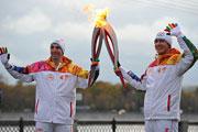 Команда X5 Retail Group приняла участие в эстафете олимпийского огня