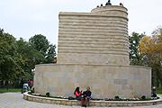 Многое в парке сделано в азербайджанском стиле