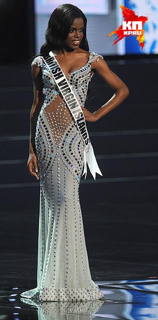Мисс Британские Виргинские острова - Шэри де Кастро