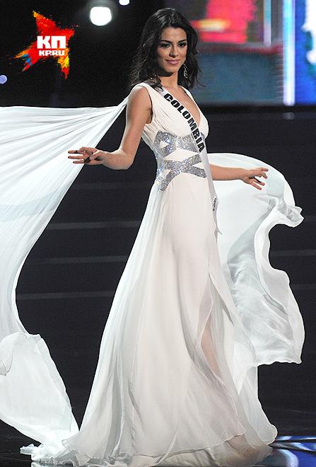 Мисс Колумбия - Лючиа Альдана