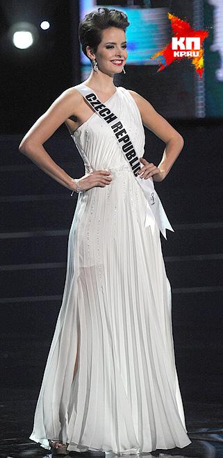 Мисс Чешская республика - Габриэла Краточвилова
