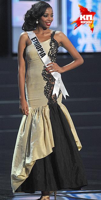 Мисс Эфиопия - Махедер Тигабе