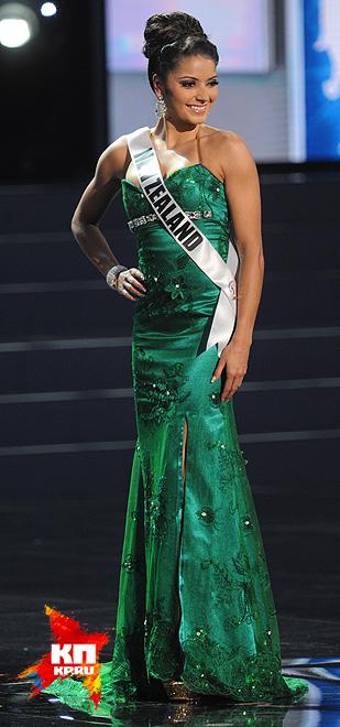 Мисс Новая Зеландия - Холли Кэссиди