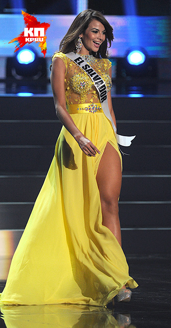 Мисс Сальвадор - Альба Дэльгадо