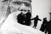 Новый год в Новосибирске в старых фотографиях