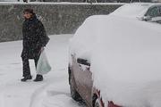 Волгоград завалило снегом