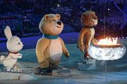 Церемония закрытия Олимпиады глазами нашего фотокорреспондента Владимира Веленгурина