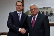 Председатель Госдумы Сергей Нарышкин посетил Израиль и Палестинскую автономию
