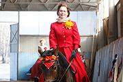 В Ярославле прошло праздничное конное шоу «Spring Carousel»