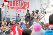 Карнавальный спуск в Шерегеше