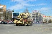 Во время Парада Победы в Ижевске дали праздничный залп «Катюша» и «Оса»
