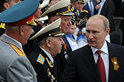 Президент Путин принял участие в праздновании Дня победы в Севастополе