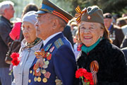 День Победы в Уфе: торжественный марш, народные гуляния и фейерверк