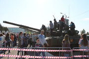 Выставка военной техники в Благовещенске