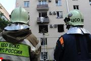 В жилом доме на Кутузовском проспекте прогремел взрыв