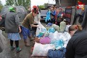 Кемеровчане отвезли гуманитарную помощь на Алтай